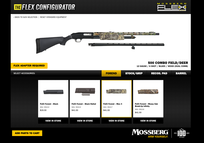 FLEX Configurator Play Page