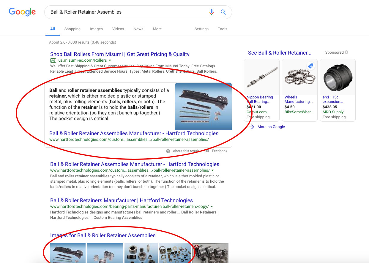 On Page SEO Rank   Snyder Group