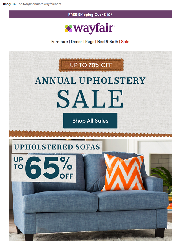 Promo Email   Snyder Group Inc
