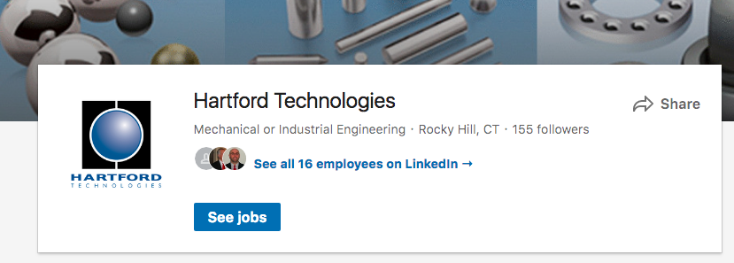 Linked in for Manufacturing