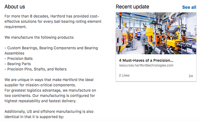 LinkedIn for Manufacturing