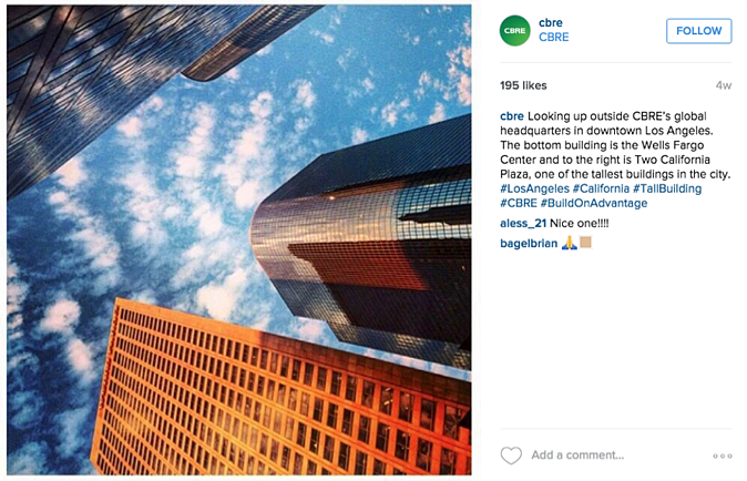 CBRE_Instagram