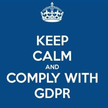 keep calm & GDPR